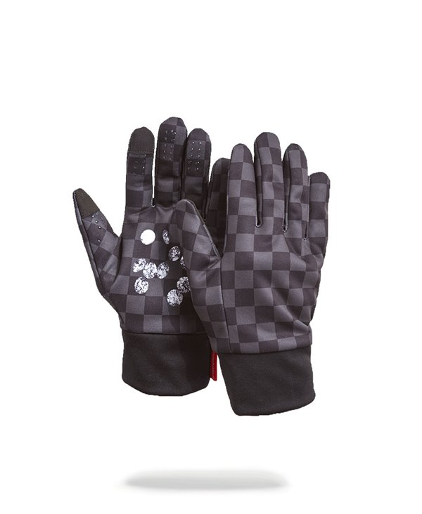 Diamonds in Palm Gants Homme Black