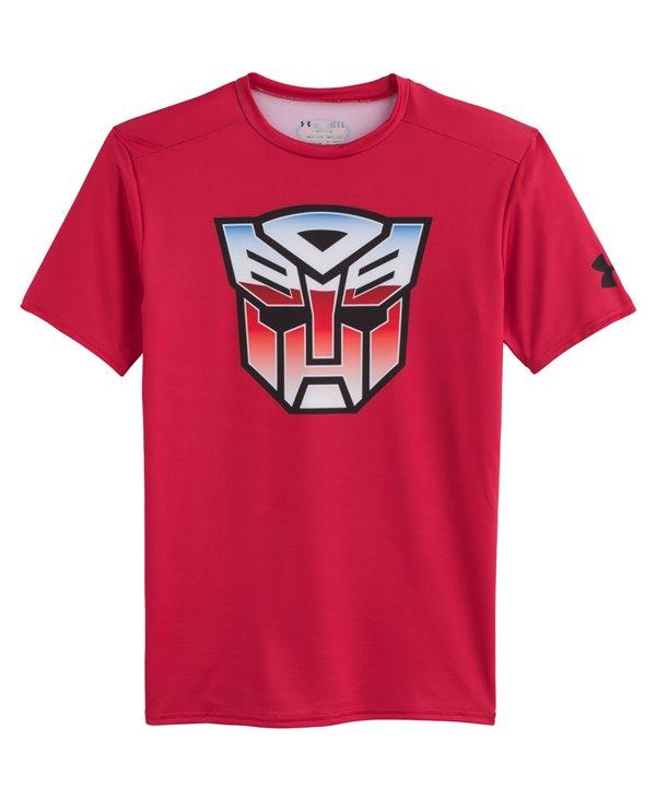 Alter Ego Camiseta de Compresión Manga Corta para Hombre Transformers Autobots Classic