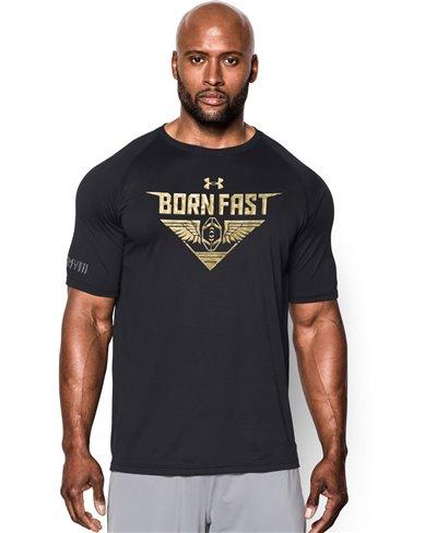 Born Fast T-Shirt Manica Corta Uomo Black