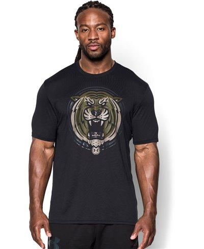 Herren Kurzarm T-Shirt Combine Training Complete Dominance Black