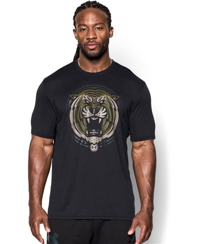 Men's Short Sleeve T-Shirt Combine Training Complete Dominance Black