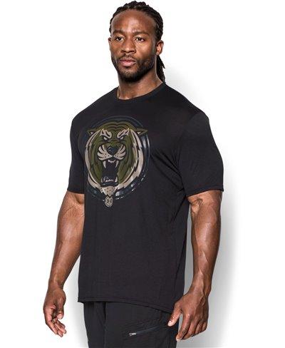Men's Short Sleeve T-Shirt Combine Training Complete Dominance Black