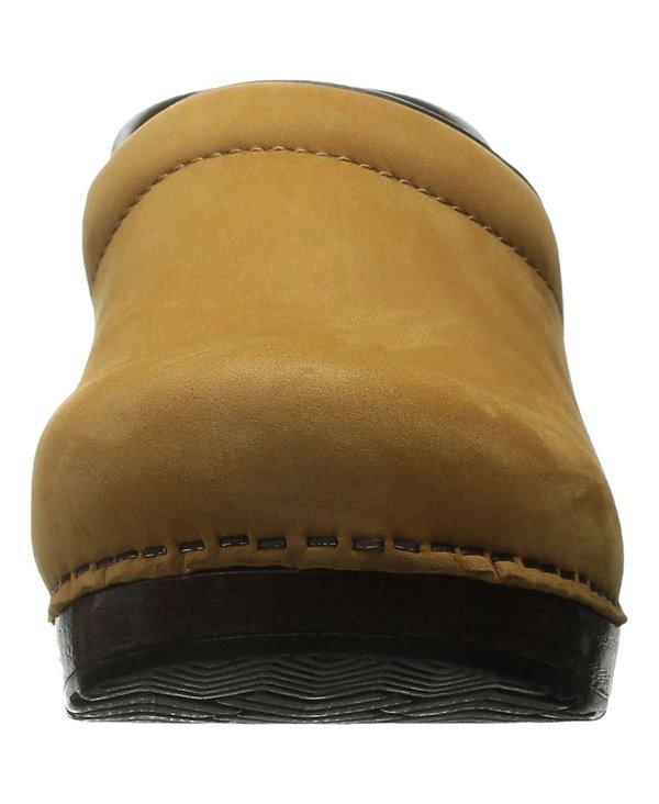 Professional Leather Zoccoli in Pelle Donna Wheat Nubuck