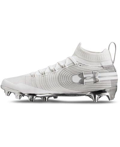 Spotlight MC Zapatos de Fútbol Americano para Hombre White