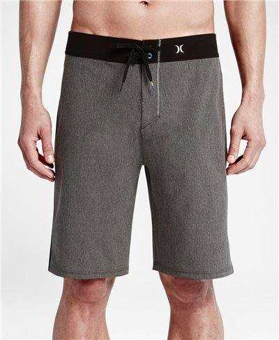 Men's Board Shorts Phantom JJF 2 Solid Black