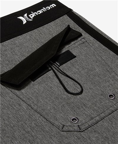Herren Boardshorts Phantom JJF 2 Solid Black