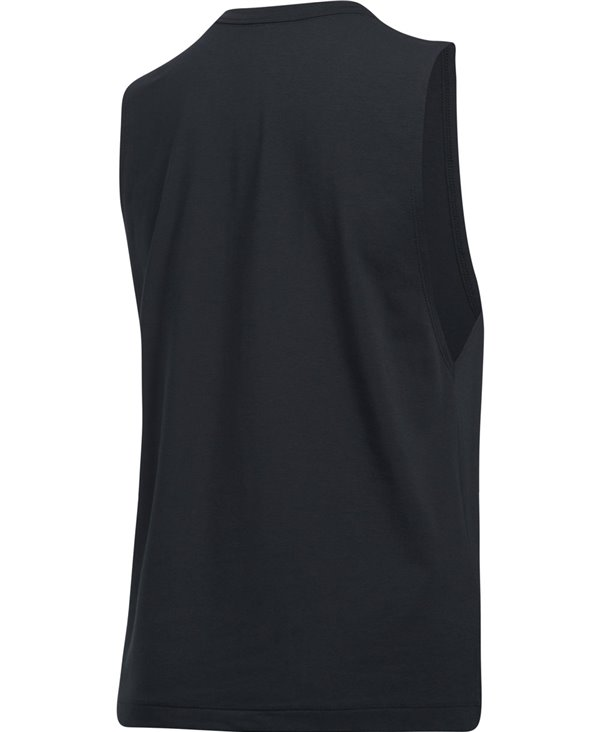 Women's Tank Project Rock Muscle Black