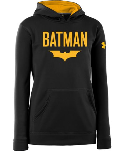 Kinder Hoodie Armour Fleece Storm Batman
