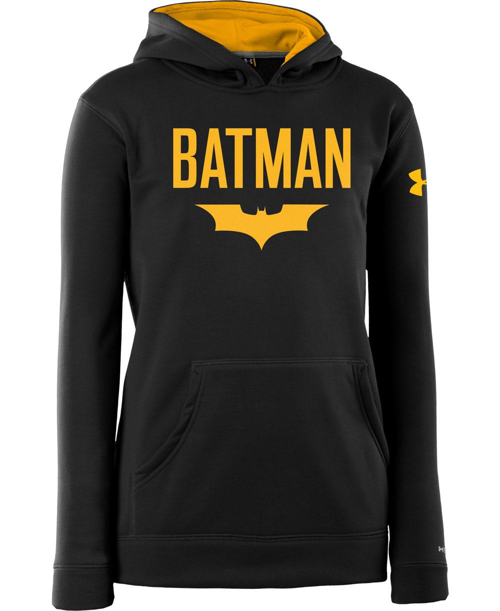 Kids Hoodie Armour Fleece Storm Batman