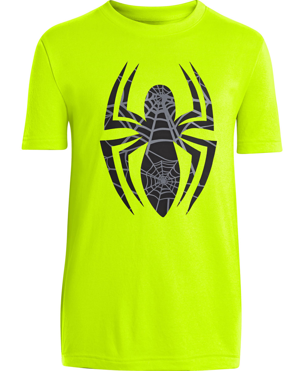 Kinder Kurzarm T-Shirt Alter Ego Spider-man