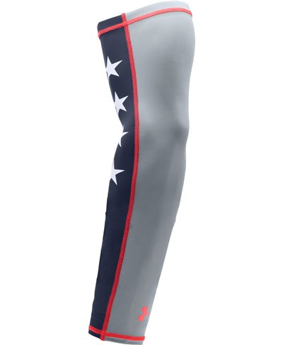 Graphic HeatGear Manica da Baseball Uomo Steel