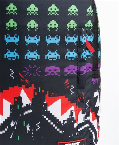 Zaino Shark Space Invaders 40th Anniversary