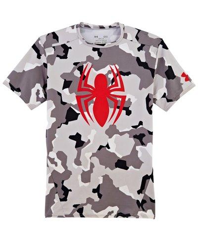 Alter Ego Camiseta de Compresión Manga Corta para Hombre Spider-Man