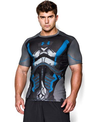 Alter Ego Camiseta de Compresión Manga Corta para Hombre Future Warrior