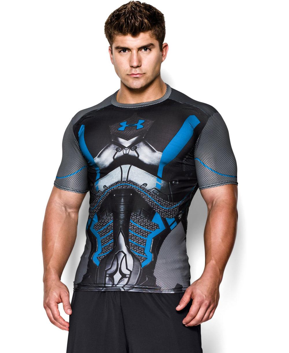 artillería Sistemáticamente Mono  Under Armour Alter Ego Camiseta de Compresión Manga Corta para Homb...