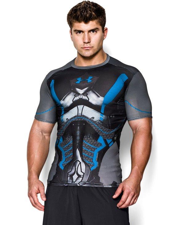 Alter Ego T-shirt Compression à Manches Courtes Homme Future Warrior