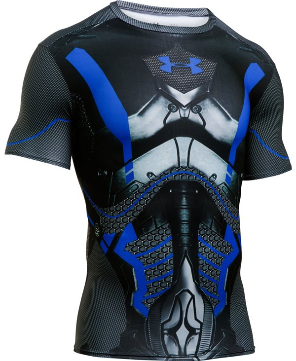 Alter Ego Men's Short Sleeve Compression Shirt Future Warrior