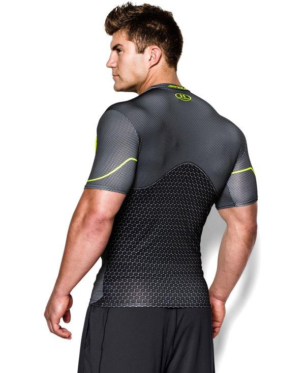 Alter Ego T-shirt Compression à Manches Courtes Homme Future Warrior Black 003