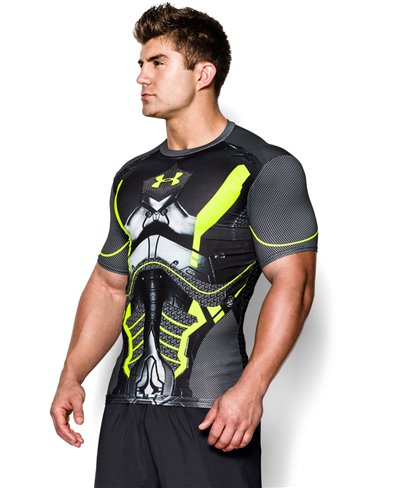 Alter Ego T-shirt Compression à Manches Courtes Homme Future Warrior Black 003