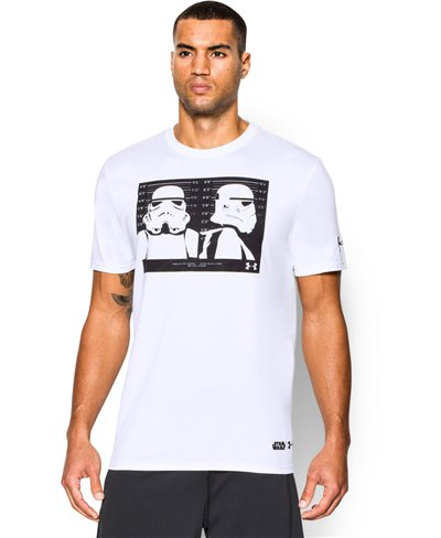 Men's Short Sleeve T-Shirt Star Wars Trooper White