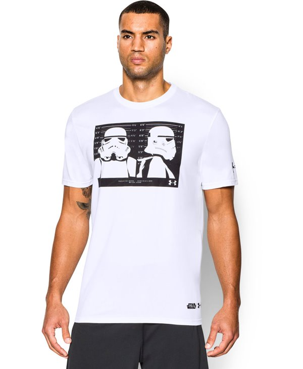 Star Wars Trooper T-Shirt Manica Corta Uomo White