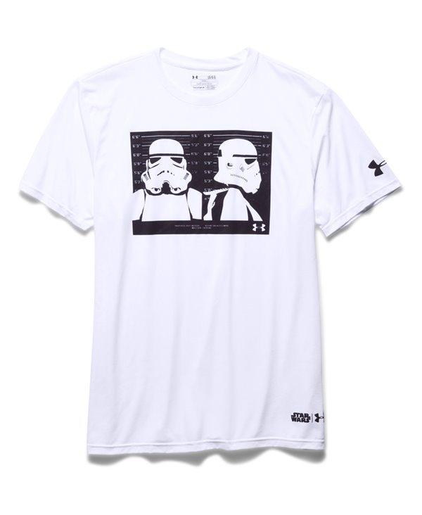 b9e0de716b988 Under Armour Star Wars Trooper Camiseta Manga Corta para Hombre White