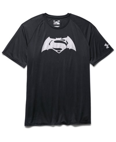 Alter Ego Batman Vs Superman T-Shirt Manica Corta Uomo Black