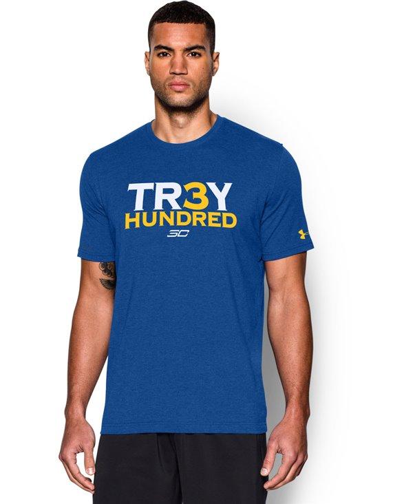 SC30 Tr3y Hundred T-Shirt Manica Corta Uomo Royal