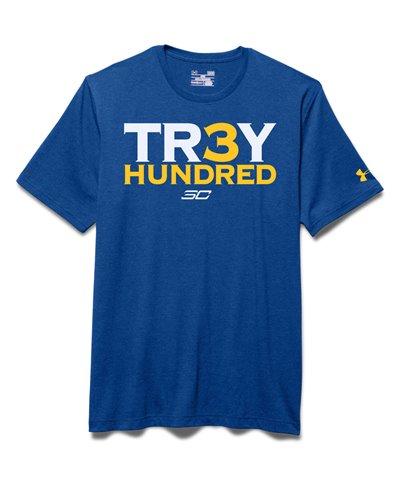 Men's Short Sleeve T-Shirt SC30 Tr3y Hundred Royal