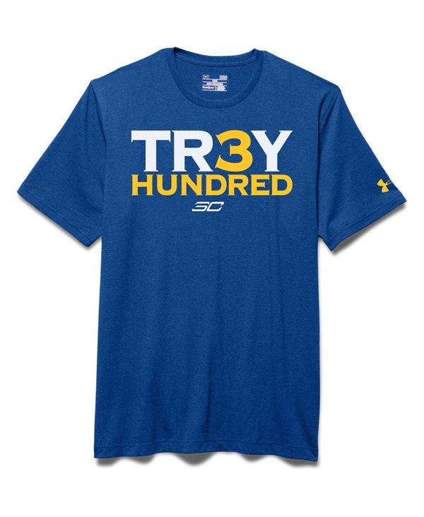 Herren Kurzarm T-Shirt SC30 Tr3y Hundred Royal