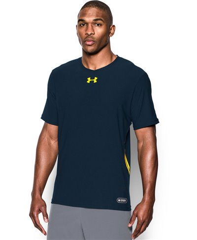 Men's Short Sleeve T-Shirt NFL Combine Authentic Cadet