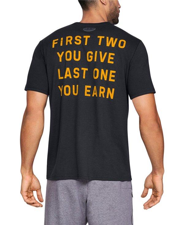 Project Rock Blood Sweat Respect T-Shirt Manica Corta Uomo Black
