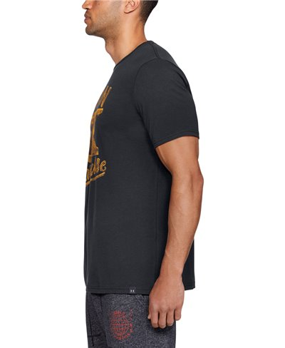 Project Rock Iron Paradise T-Shirt Manica Corta Uomo Black