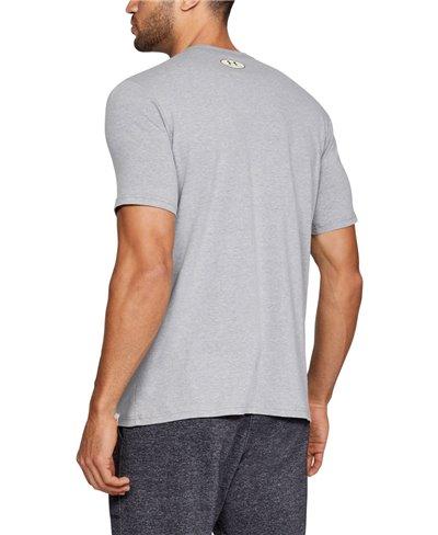 Project Rock Iron Paradise T-Shirt à Manches Courtes Homme Steel Light Heather