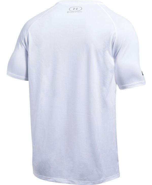 Men's Short Sleeve T-Shirt NFL Combine Authentic UA Tech Oakland Raiders