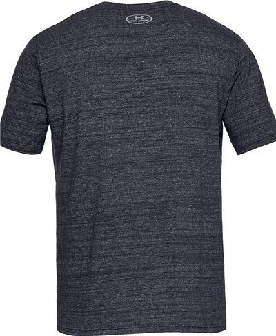 Men's Short Sleeve T-Shirt Project Rock Progress Through Pain Black