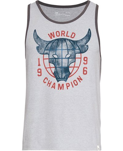 Project Rock 96 World Champion Débardeur Homme Steel Light Heather