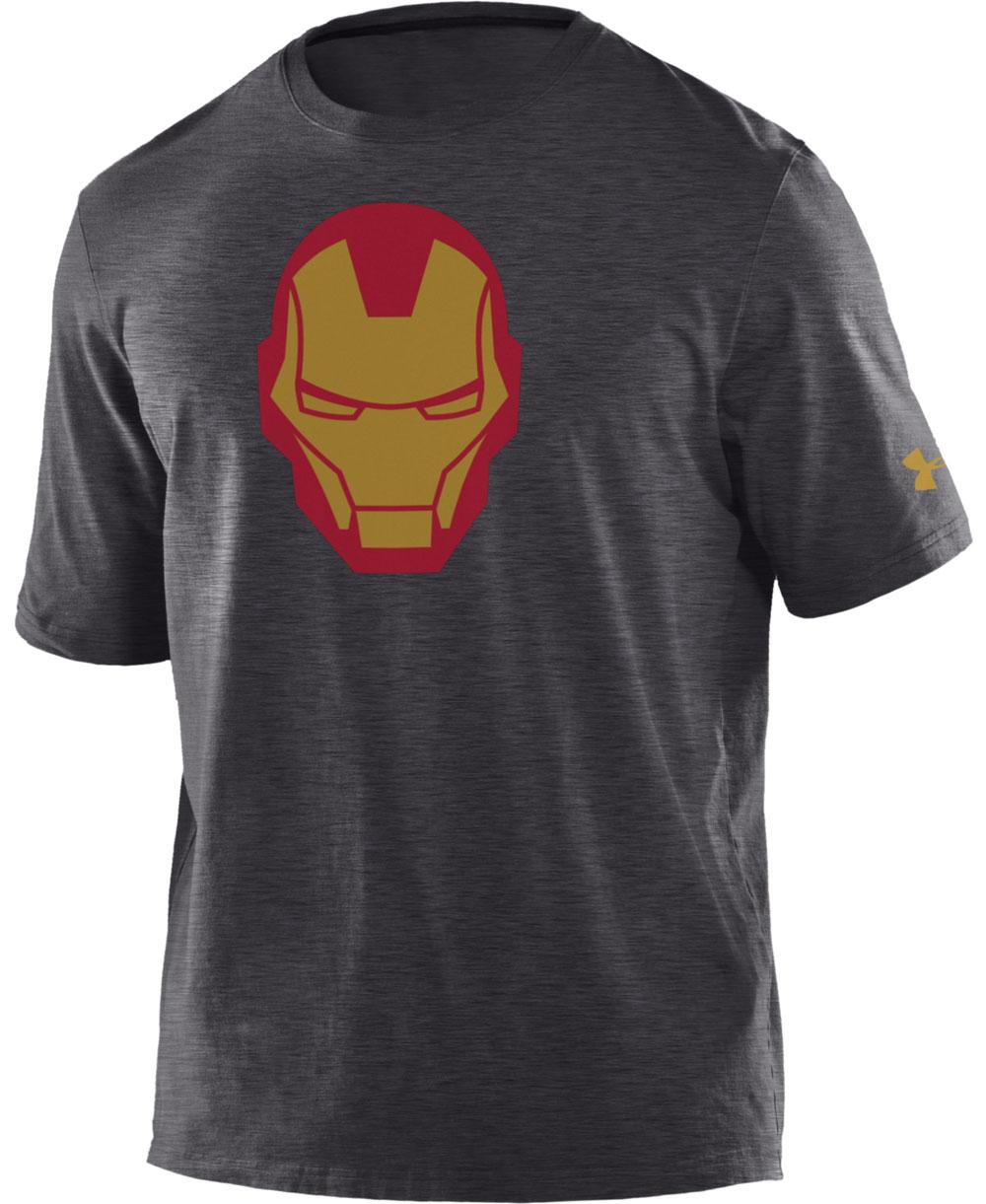 Under Armour Alter Ego Camiseta Manga Corta para Niño Iron Man 0bd6a9327ab47