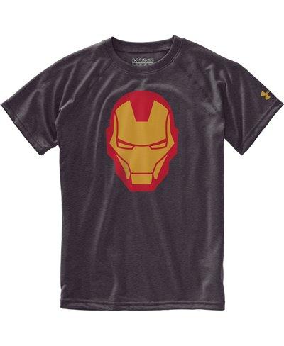Kinder Kurzarm T-Shirt Alter Ego Iron Man