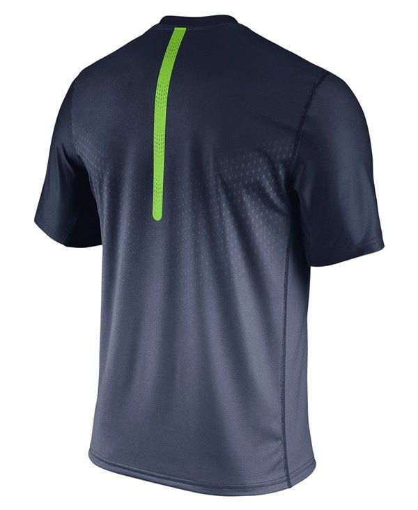 Legend Sideline T-Shirt Manica Corta Uomo NFL Seattle Seahawks
