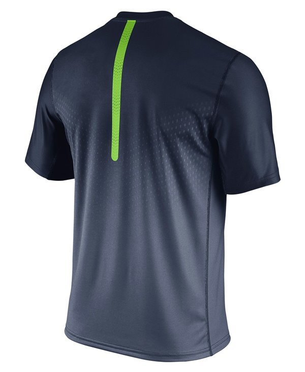 Men's Short Sleeve T-Shirt Legend Sideline NFL Seattle Seahawks