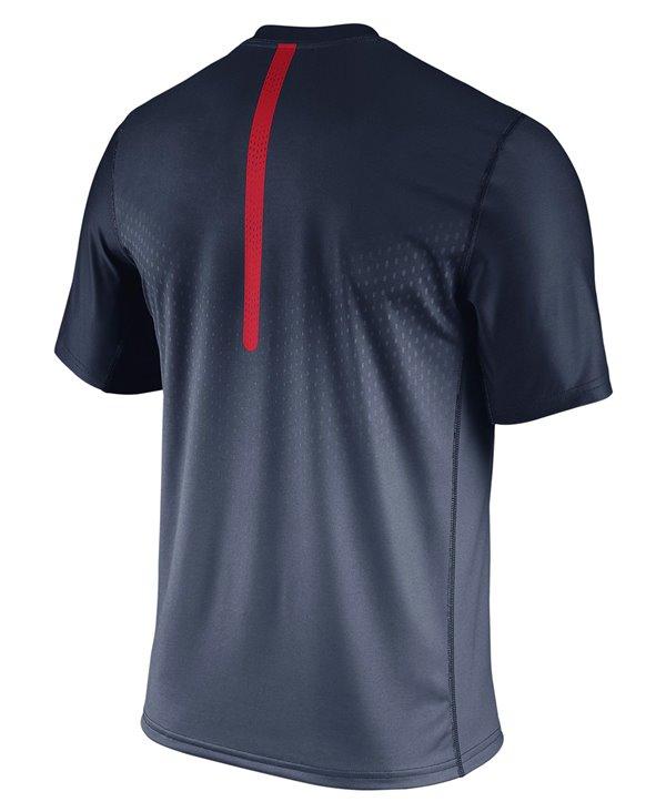 Legend Sideline T-Shirt Manica Corta Uomo NFL New England Patriots