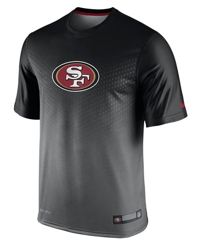 Men's Short Sleeve T-Shirt Legend Sideline NFL San Francisco 49ers