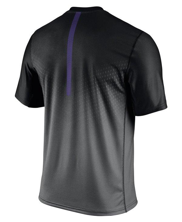 Legend Sideline T-Shirt à Manches Courtes Homme NFL Baltimore Ravens
