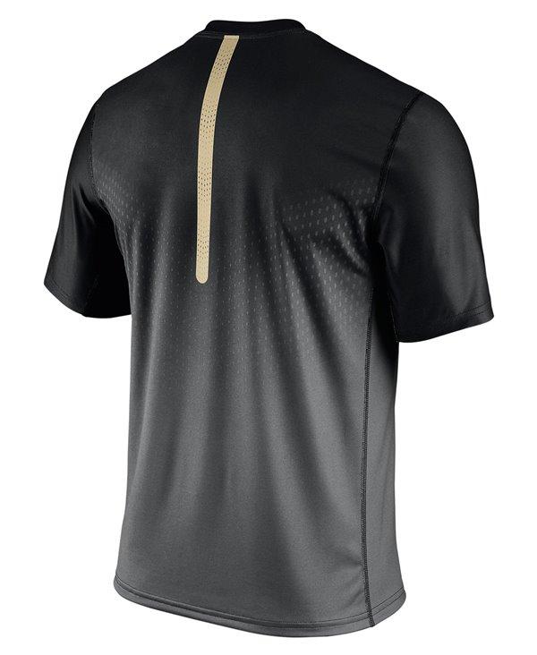 Legend Sideline T-Shirt à Manches Courtes Homme NFL New Orleans Saints