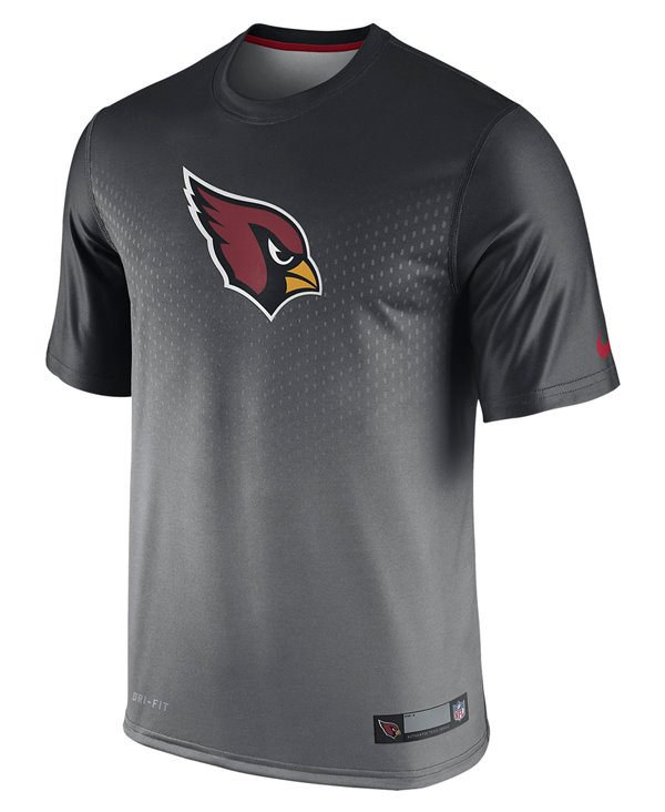 Legend Sideline T-Shirt à Manches Courtes Homme NFL Arizona Cardinals