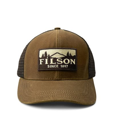 Men's Cap Logger Dark Tan
