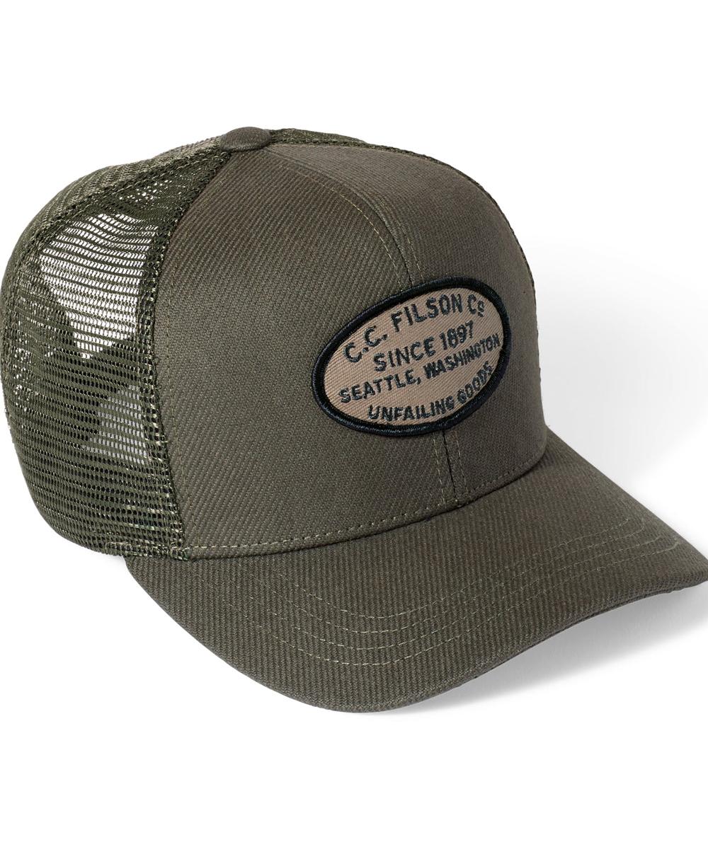 Men's Cap Buckshot Twill Otter Green