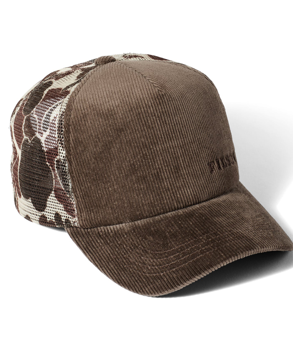 Men's Cap Alcan Cord Buck