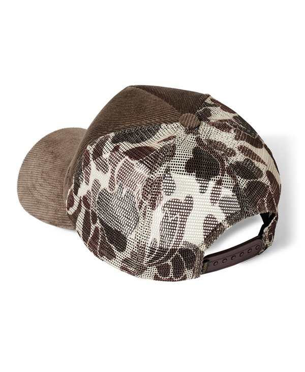 Alcan Cord Casquette Homme Buck